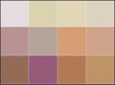 Cafe Proposal color swatch 3x4 pixels