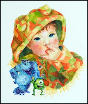 Child Boy-watercolor-web