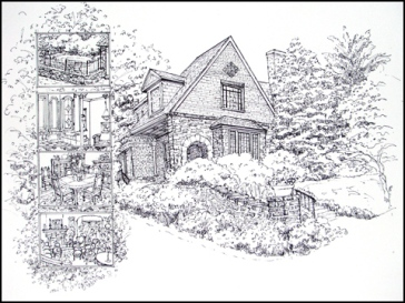 Mt. Airy House-ink - web