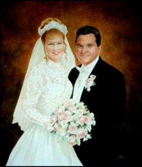 Wedding oil portrait-web